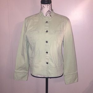 JH Collectibles Light Green Stretch Jacket